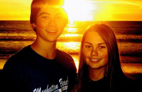 In the photo: Dylan O'Brien's sister, Julia