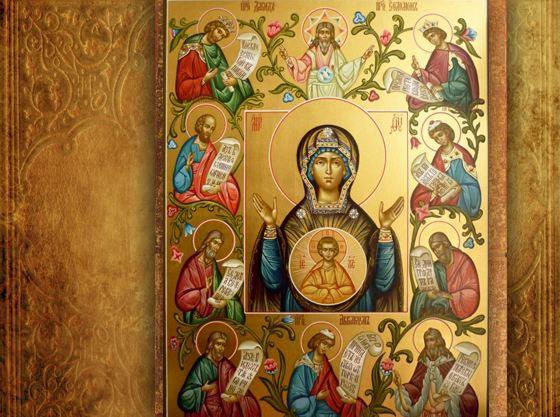 Перед Курской-Коренной иконой молятся о стране и о здоровье