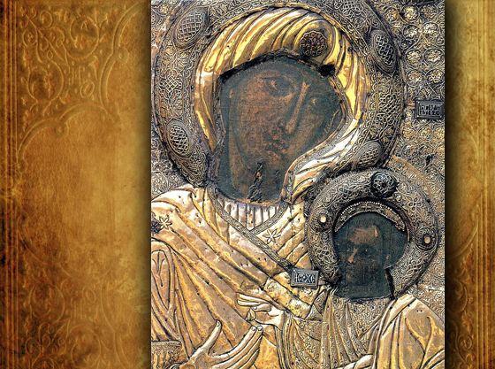 Иверская икона хранится на Афоне