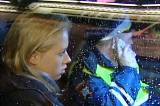 Валерия Романова сбила двух человек на пешеходном переходе