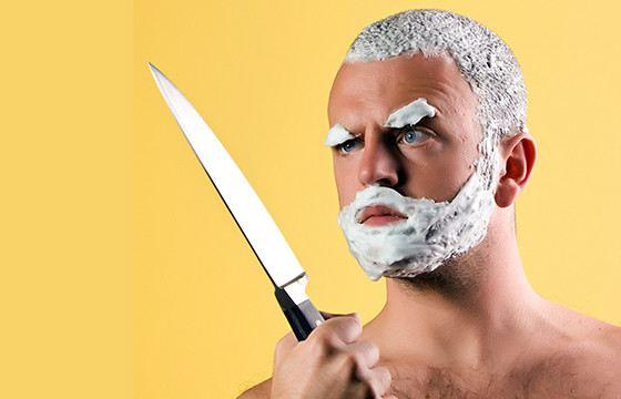 Пенка для бритья редко радует мужчин