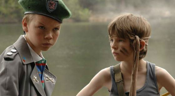 A scene from «Son of Rambow»