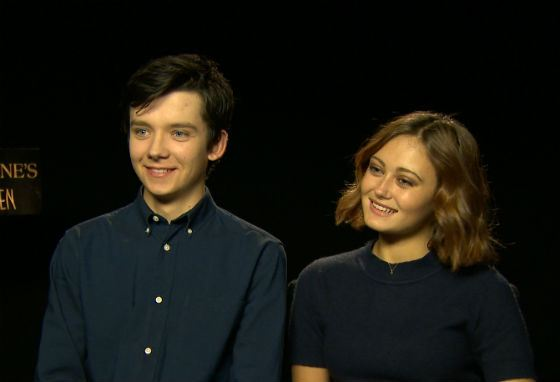 The affair of Asa Butterfield and Ella Purnell was a fake