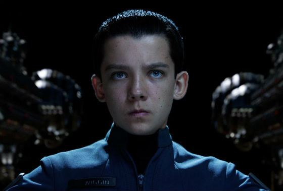 Asa Butterfield played a brilliant commander in «Ender's Game»