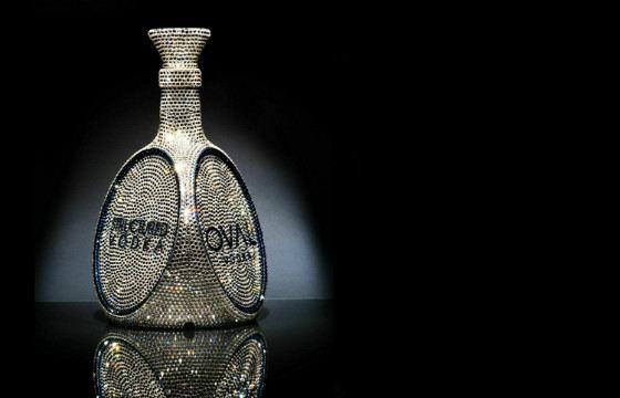 OVAL Vodka Bottle