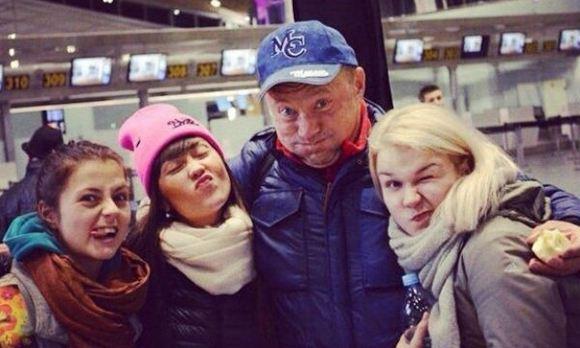 Юрий Гальцев, судя по всему, встречается со своей молодой подопечной