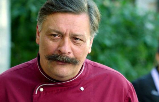 Дмитрий Назаров убедителен в роли шеф-повара
