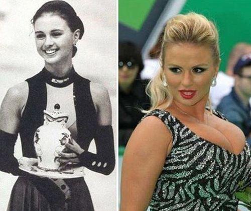 Юная Анна Семенович совсем не похожа на себя сегодняшнюю