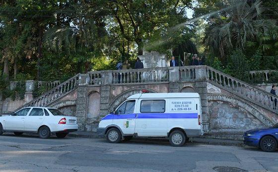На месте взрыва в Абхазии работают спецслужбы