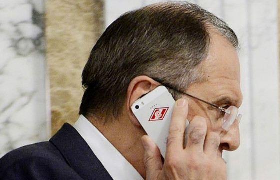Эмблема «Спартака» украшает телефон министра