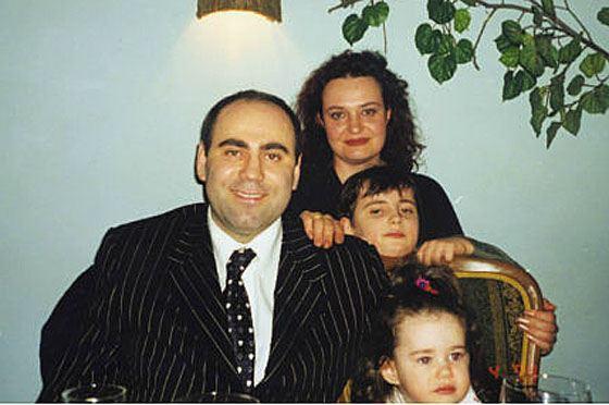 Иосиф Пригожин с бывшей семьей