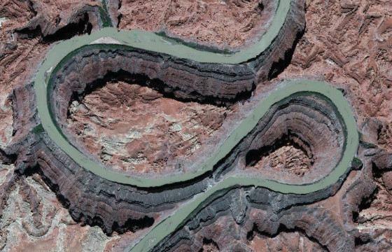 Вид на Колорадо с высоты птичьего полета