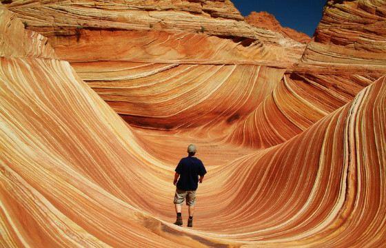 Аризонские волны пленили многих фотографов