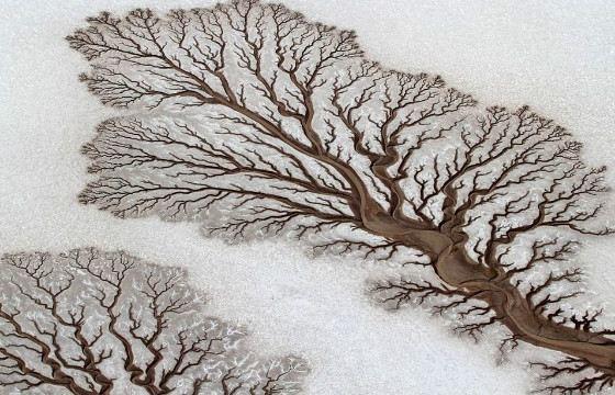 Вода создает удивительные картины