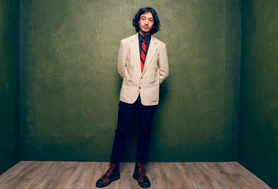 Ezra Miller's photoshoot for «The Stanford Prison Experiment»