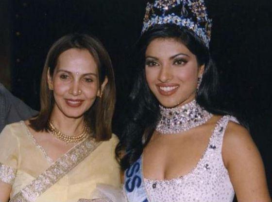 In 2000 Priyanka became Miss World