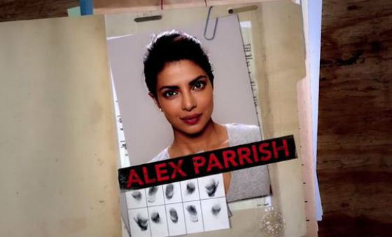 "Alex Parish - Priyanka's heroine in the series ""Quantico"""