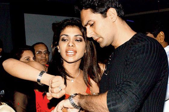 At the dawn of a career, Priyanka Chopra met with Azim Merchant