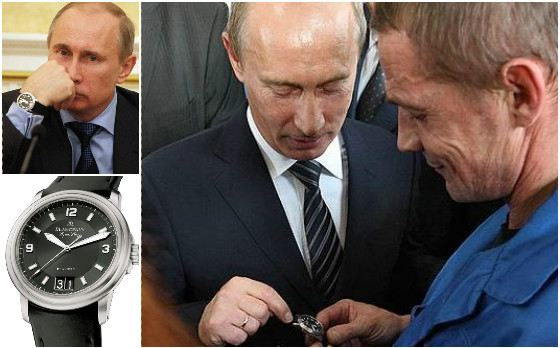Часы Blancpain Leman Aqualung Grande Date от президента получил слесарь