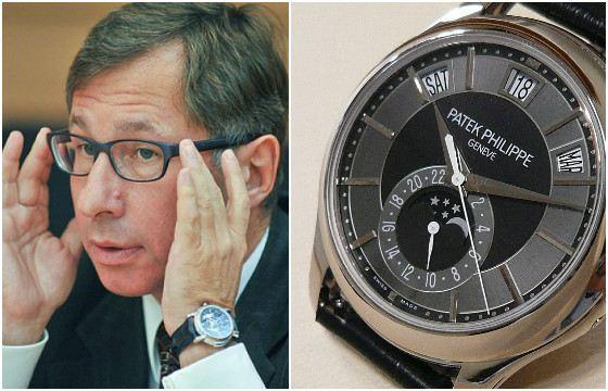 Часы с календарем Петра Авена