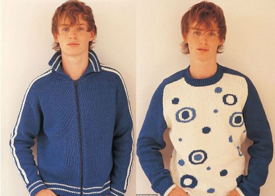 In the youth Eddie Redmayne earned as a model