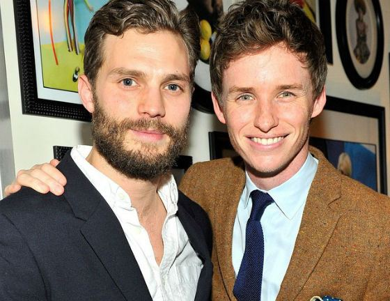 Eddie Redmayne and Jamie Dornan are friends for a long time