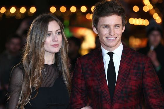 Eddie Redmayne and his wife Hannah