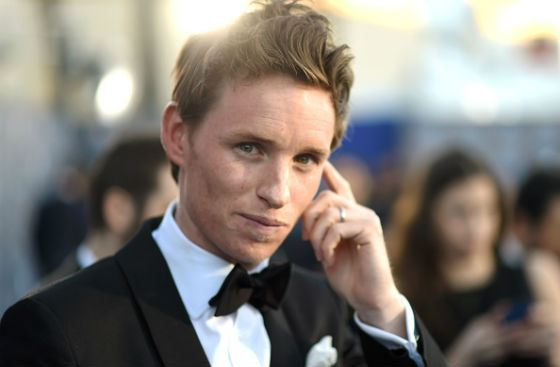 The star of British theatre and cinema Eddie Redmayne