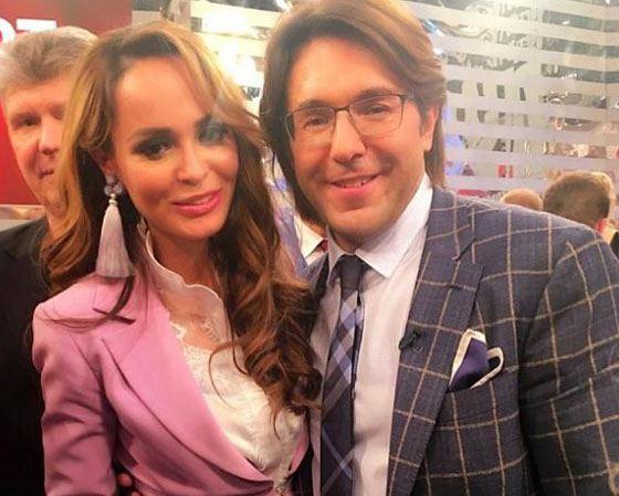 Анна Калашникова и Андрей Малахов
