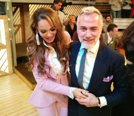 Анна Калашникова и Джанлука Вакки