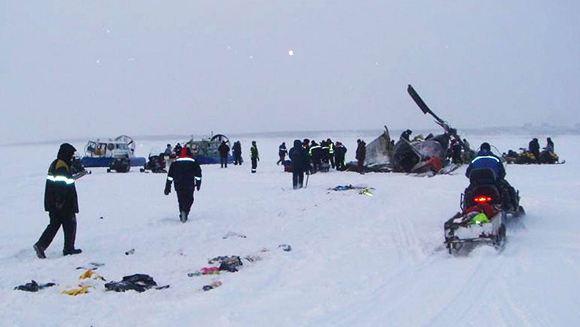 В Ямало-Ненецком автономном округе разбился Ми-8
