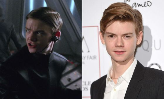 Thomas Sangster in «Star Wars»