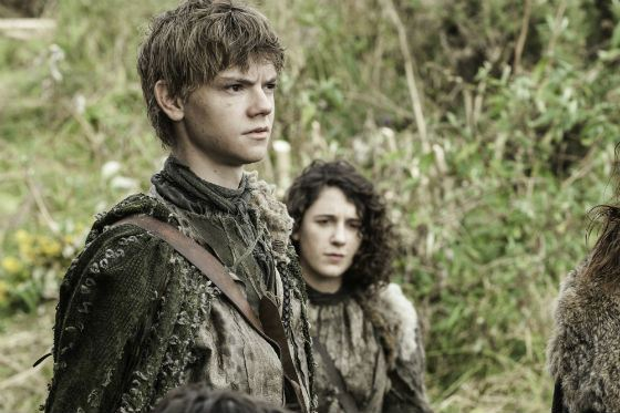 «Game of thrones»: Thomas Sangster in the role of Jojen Reed