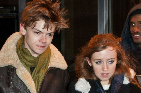 Thomas Sangster and his girlfriend Isabella Melling