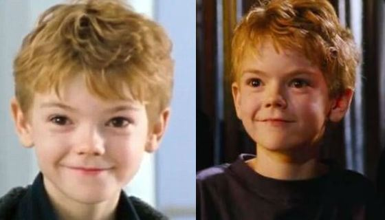 Thomas Sangster's childhood picture