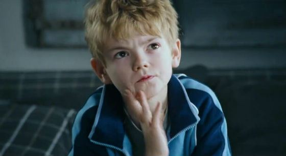 Young Thomas Sangster in «Love Actually»