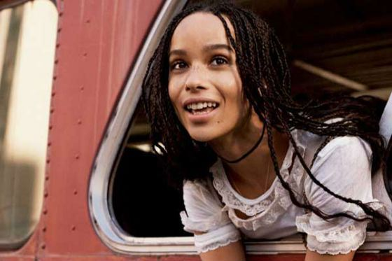"""Zoe Kravitz starred with Will Smith in """"After Earth"""""""