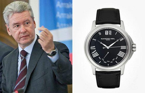 Как многие политики, Собянин выбирает швейцарские часы