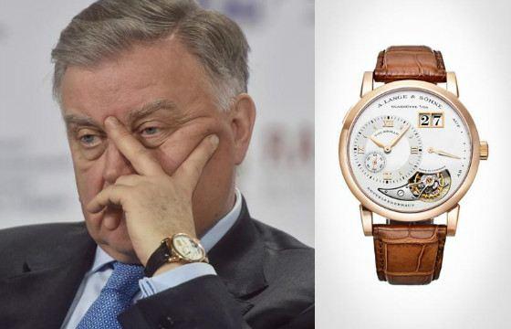 Якунин выбрал юбилейные часы, выпущенные к 165-летию производителя
