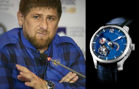 Рамзан Кадыров получил часы в подарок