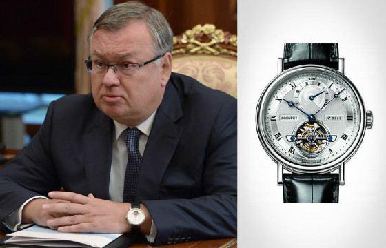 Президент ВТБ Андрей Костин может себе позволить дорогие часы