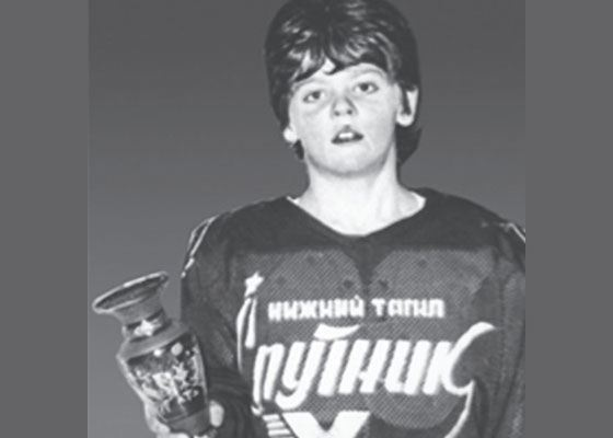 Alexander Radulov in childhood