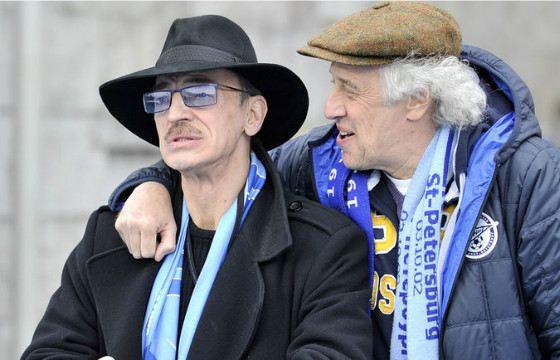 Сергей Мигицко часто ходит на стадион с своим другом Михаилом Боярским