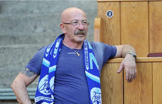 Адександр Розенбаум любит смотреть матчи на стадионе