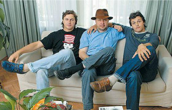 Кирилл Набутов с сыновьями