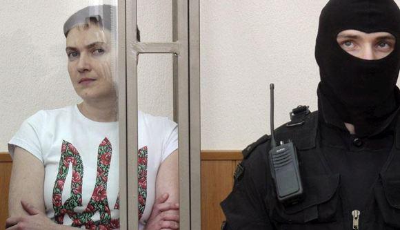 Надежда Савченко заявила, что вернулась из ада, съездив в Москву