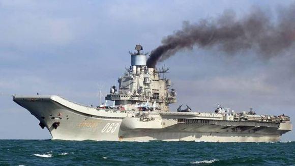 "Media: Three Russian submarines joined the ""Admiral Kuznetsov"""