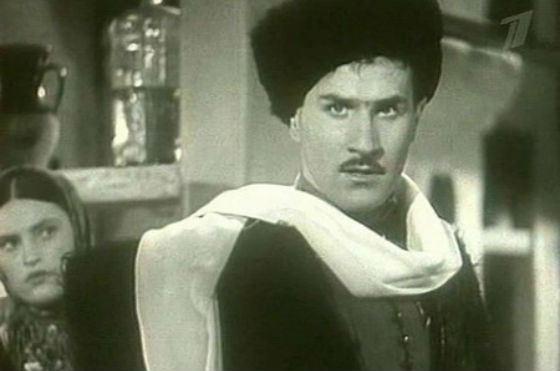 Владимир Зельдин в молодости