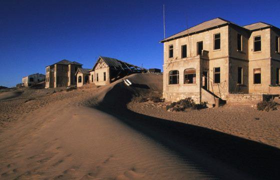 Пустыня поглотила город