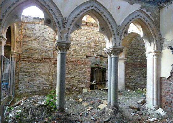 Возможно, здание будет восстановлено